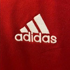 adidas Shirts - Adidas climalite large red shirt